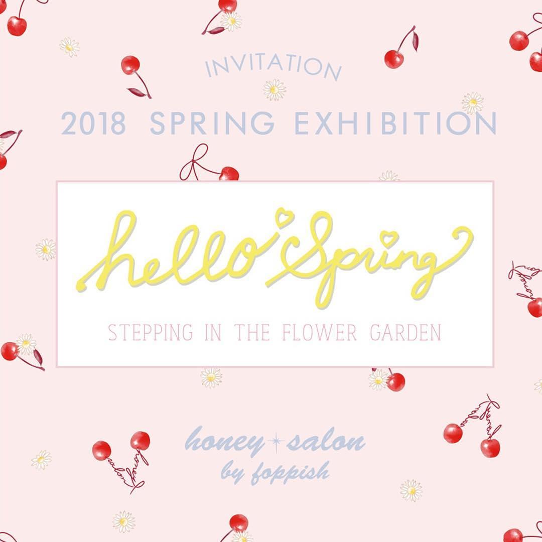 HoneySalon 2018 Spring Collection…★