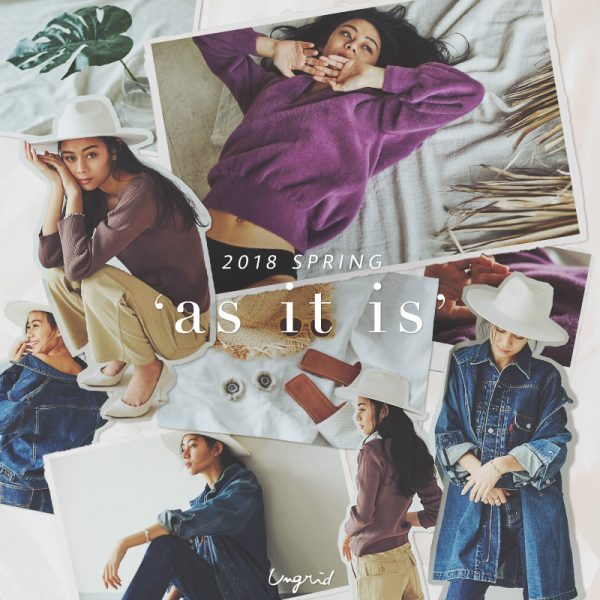 """Ungrid(アングリッド) """"as it is"""" PREORDER"""