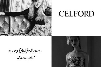 【CELFORD セルフォード】ついに販売開始♪本日18:00~【公式通販】