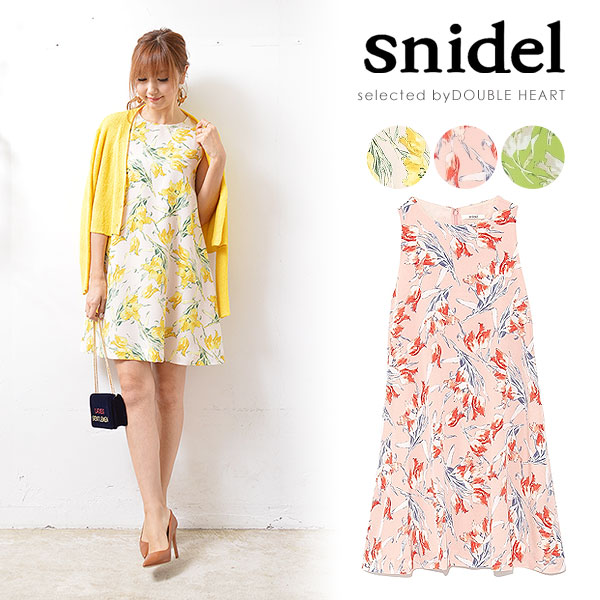 『snidel』新作入荷♪春らしいアイテムが続々登場です!