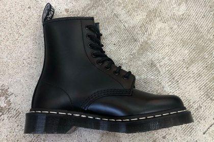 【Dr.Martens】定番8ホールブーツに白×黒のコントラストが印象的な新作モデルが登場!